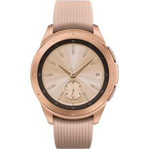 Samsung - Galaxy Watch Smartwatch 42mm Stainless Steel LTE - Rose Gold (Verizon)
