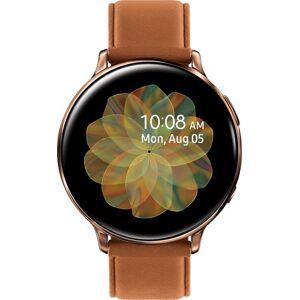 Samsung - Galaxy Watch Active2 Smartwatch 44mm Stainless Steel Verizon - Gold