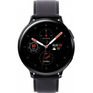 Samsung - Galaxy Watch Active2 Smartwatch 44mm Stainless Steel AT&T - Black
