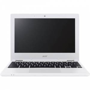 "Acer - 11.6"" Refurbished Chromebook - Intel Celeron - 4GB Memory - 16GB eMMC Flash Memory - White"