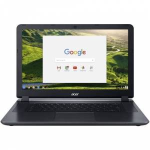 "Acer - 15.6"" Refurbished Chromebook - Intel Celeron - 4GB Memory - 32GB eMMC Flash Memory - Granite Gray"