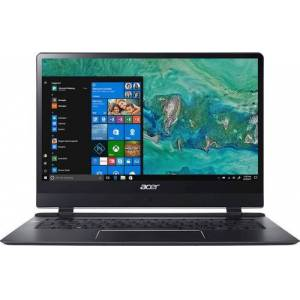 """Acer - Swift 7 14"""" Touch-Screen Laptop - Intel Core i7 - 8GB Memory - 256GB Solid State Drive - Black"""