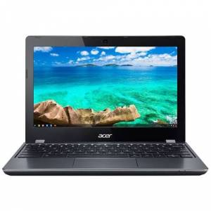 "Acer - 11.6"" Refurbished Chromebook - Intel Celeron - 4GB Memory - 16GB SSD - Black"