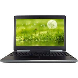 "Dell - Precision Mobile Workstation 15.6"" Refurbished Laptop - Intel Core i7 - 16GB Memory - 512GB SSD - Black"