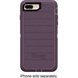 OtterBox - Defender Series Pro Modular Case for Apple® iPhone® 7 Plus and 8 Plus - Purple