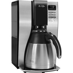 Mr. Coffee - 10-Cup Coffee Maker - Stainless-Steel/Black
