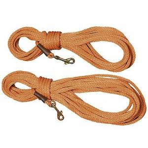 MENDOTA PRODUCTS, INC. Mendota Trainer Dog Check Cord 30ft x 3/8in Orange