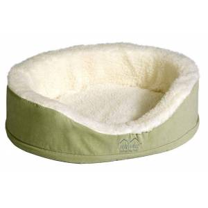 MIDWEST METAL PRODUCTS Quiet Time Ortho Nesting Dog Bed Small Sage