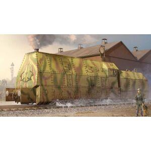 Trumpeter Models 219 1/35 German BR57 Armored Steam Locomotive
