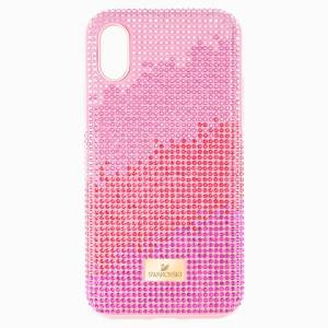 Swarovski High Love Smartphone case with Bumper, iPhone® XS Max, Pink