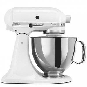 Kitchenaid Artisan Tilt Head Stand Mixer, White