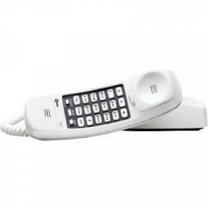 AT&T White Trimline Corded Telephone