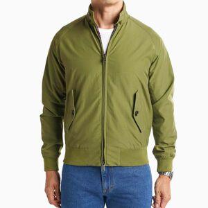 Peter Manning Shorter Men's Harrington Jacket - Olive