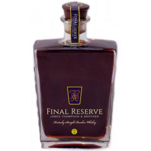 Brother James Thompson & Brother Final Reserve 45 Year Old Kentucky Straight Bourbon Whiskey 750ml
