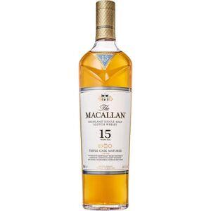 Macallan 15 Year Old Triple Cask Matured Single Malt Scotch 750ml Etch Rated 96-100WE
