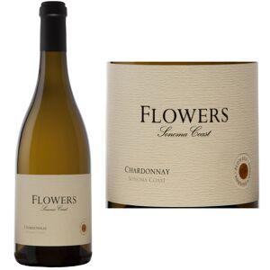 12 Bottle Case Flowers Sonoma Coast Chardonnay 2016 w/ Free Shipping