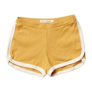 Petits Vilains Francoise Gym Shorts, Miel  - Yellow - Size: 8-9y