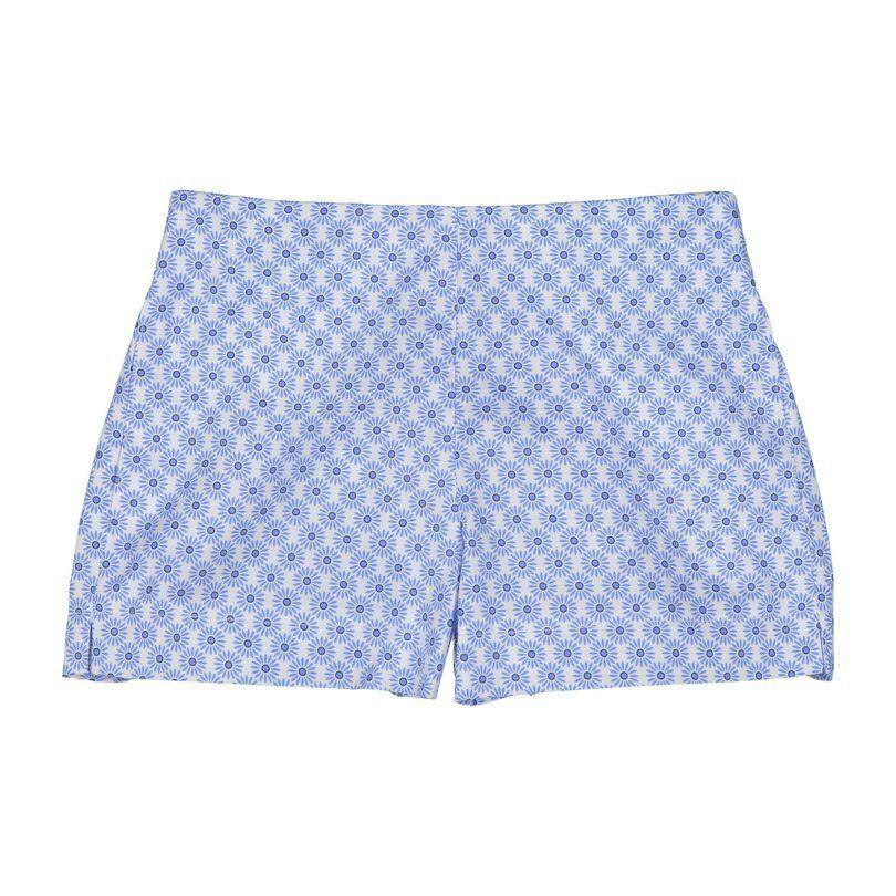 CPC - Classic Prep Childrenswear Harper Shorts, Blue Picnic Wheel  - Blue - Size: 4y