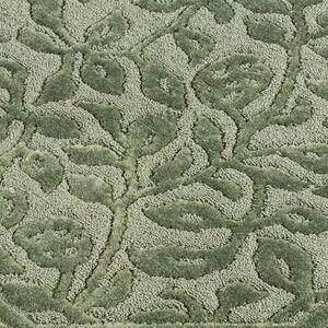 Mohawk Rug & Textiles Wellington Nylon Bath Rug Runner, 2' x 9', Sage