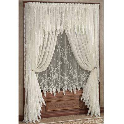 Touch of Class Wisteria Arbor Tailored Panel, 56 x 84, Sage