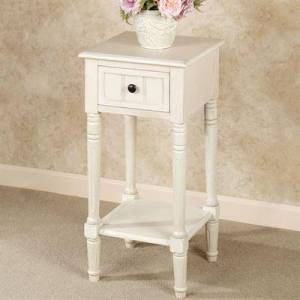 J Hunt/Jimco Crookston Square Side Table Antique White , Antique White