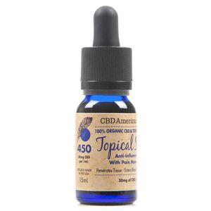 Terpene Rich Topical Serum (15ml) THC Free
