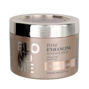 Schwarzkopf BlondMe Tone Enhancing Bonding Mask - Warm Blondes 6.7 oz