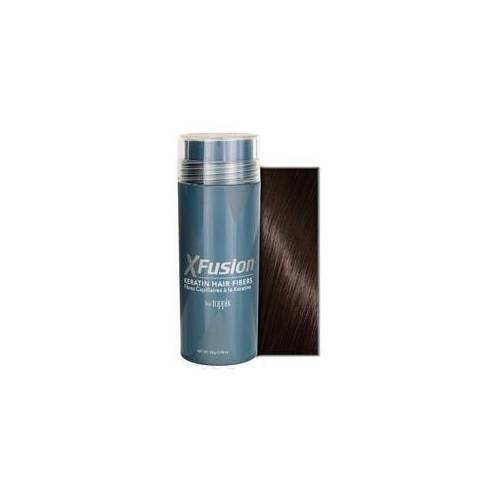XFusion Keratin Hair Fibers - Dark Brown 0.98 oz