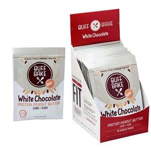 BestPriceNutrition Buff Bake White Chocolate Protein Peanut Butter Spread 10 Pack