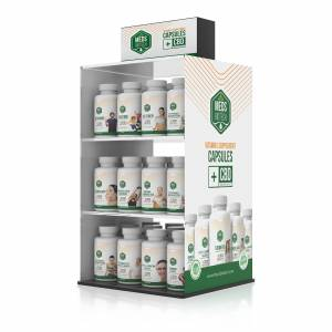 Product Display - Meds Biotech CBD Capsules - Package B