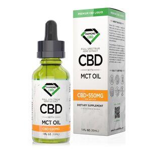 Diamond CBD Full Spectrum MCT Oil - 550mg (30ml)