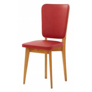 Vintage Red Mid Century Chair