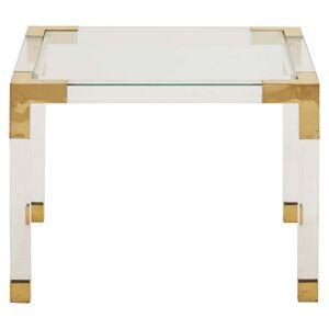 Vintage Square Lucite Table