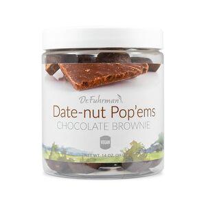 Dr. Fuhrman Date-Nut Pop'ems - Chocolate Brownie