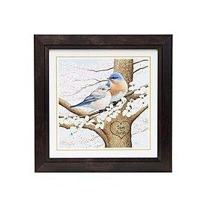 Scott Personalized Framed Bluebird Print
