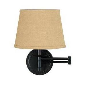 KENROY HOME - ATTN: GLEN Swing-Arm Wall-Mounted Reading Lamp, in Oil/Rubbed Bronze