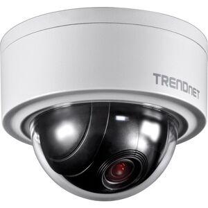 TRENDnet TV-IP420P 3 Megapixel Network Camera - Color, Monochrome - Motion JPEG, H.264 - 2048 x 1536 - 2.80 mm - 12 mm - 4x Optical - CMOS - Cable - Dome