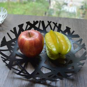 Metal Bird Nest Branch Decorative Bowl / Basket