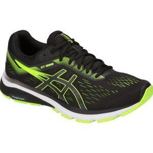 Asics GT-1000 7 Men's Running Shoe Black Hazard Green 1011A042 004