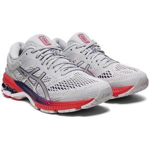 Asics Gel Kayano 26 Women's Running Shoe Piedmont Grey Silver 1012A457 020