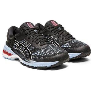 Asics Gel Kayano 26 Women's Running Shoe Black Heritage Blue 1012A457 003
