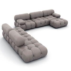1 Mario Bellini Camaleonda Sofa / Combination 007 - Aniline Leather-Sand