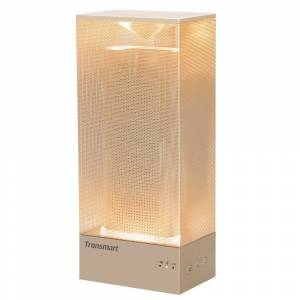 Beam Tronsmart Beam 15W Wireless Bluetooth Speaker Solid Mesh Speaker with Deep Bass Mood Lights - Gold