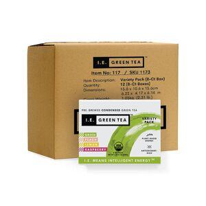 Amica Tea LLC Variety Pack Green Tea - Inner Carton (12 x 8-ct boxes)