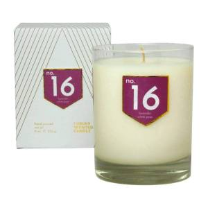 ACDC Candle Co No. 16 Lavender White Pear Scented Soy Candle