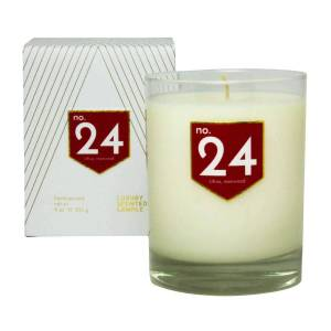 ACDC Candle Co No. 24 Citrus Rosewood Scented Soy Candle
