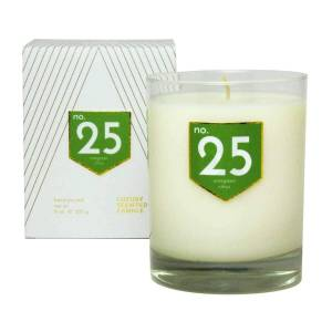 ACDC Candle Co No. 25 Evergreen Citrus Scented Soy Candle