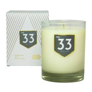 ACDC Candle Co No. 33 Vetiver Cedar Scented Soy Candle