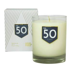 ACDC Candle Co No. 50 Iris Jasmine Scented Soy Candle