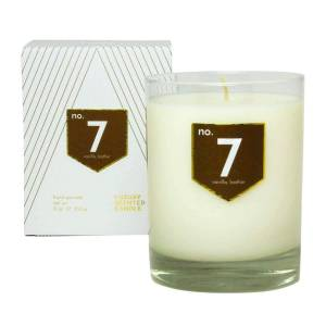 ACDC Candle Co No. 7 Vanilla Leather Scented Soy Candle